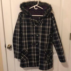 Cute Volcom peacoat for light fall/winter wear
